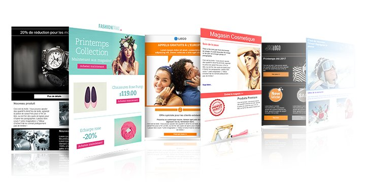template pour Newsletter commerciale